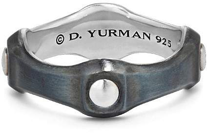 David Yurman Anvil Band Ring, 8mm