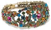 "Heidi Daus Fantasy in Flight"" Crystal Link Bracelet"