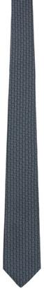 Burberry Blue Monogram Classic Tie
