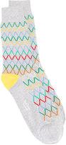 Paul Smith grid pattern socks