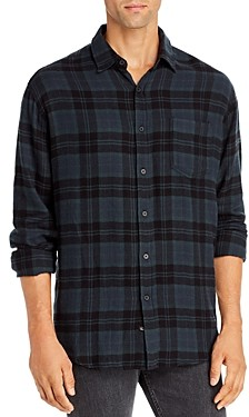 Rails Lennox Plaid Flannel Regular Fit Button-Down Shirt