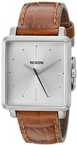 Nixon Women's A4722094 K Squared Analog Display Japanese Quartz Brown Watch