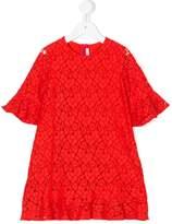 Il Gufo floral lace dress