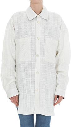 Faith Connexion Oversize Tweed Shirt