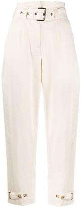 Pinko High-Rise Peg Trousers