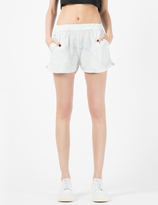 A Question Of White Marble Shorts