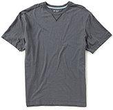 Daniel Cremieux Lounge Short-Sleeve Solid Crewneck Knit Tee