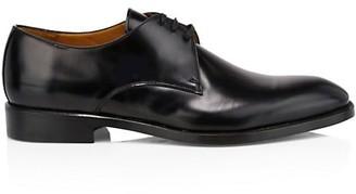 Paul Stuart Hancock Plain Toe Leather Blucher Derby Shoes