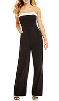 Teeze Me Strapless Bow Back Jumpsuit