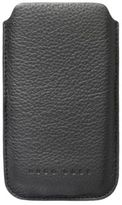 Hugo Boss Boston i Phone 4 Embossed Leather Cell Phone Case One Size Black
