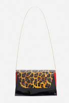 Fashion to Figure Jag Patent Animal Print Bag