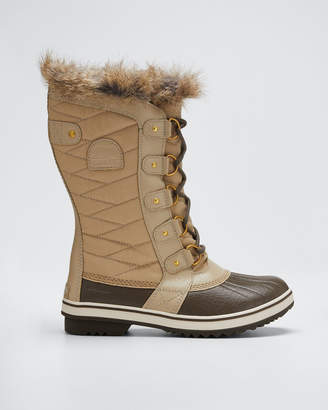 Sorel Tofino II Fur-Trim Quilted Boots