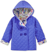 First Impressions Quilted Hooded Jacket, Baby Girls (0-24 months), Only at Macy's