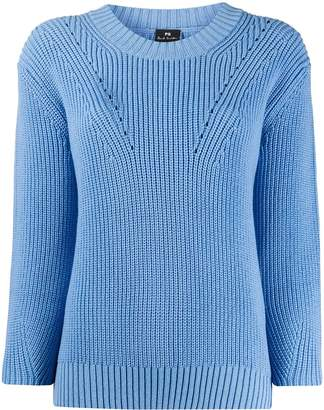 Paul Smith long-sleeve fitted jumper