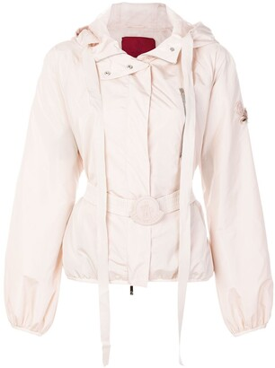Moncler Belted Nylon Jacket