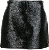 Courreges straight mini skirt