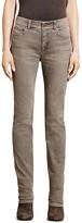 Lauren Ralph Lauren Straight Leg Jeans in Concrete Wash