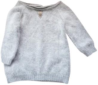 Thomas Wylde Grey Wool Knitwear