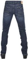 Giorgio Armani Jeans J06 Slim Fit Jeans Blue