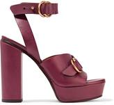 Chloé Leather Platform Sandals - IT38