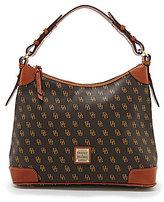 Dooney & Bourke Greta Signature Print Hobo Bag