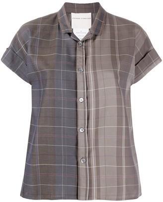 Stephan Schneider Check-Pattern Short-Sleeve Shirt