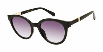 Nanette Nanette Lepore Nanette by Nanette Lepore Women's NN321 Oval Sunglasses with Soft Grained Metal Temple & 100% UV Protection