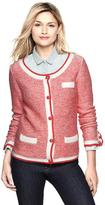 Gap Marbled jacquard jacket