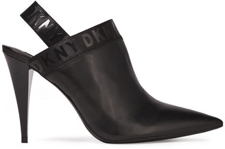 DKNY Kris Leather Slingback Mules