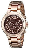 Vernier Women's VNR11157RG Rose Gold-Tone Watch