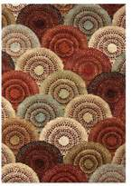 Orian Aria Rugs Parker 5-Foot 3-Inch x 7-Foot 6-Inch Rug