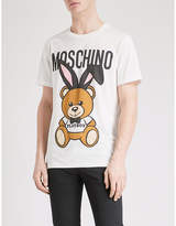 Moschino Bunny Bear Cotton-jersey T-shirt
