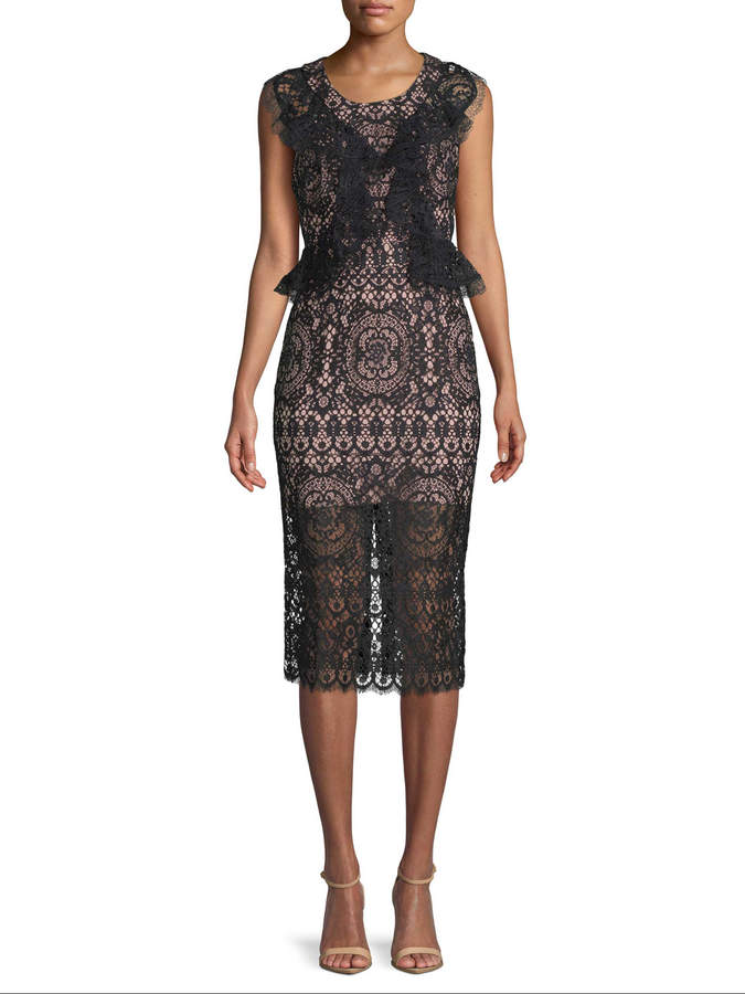 Alexis Women's Lace Overlay Dress