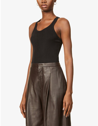The Line By K Sophie loose-fit stretch-jersey tank top