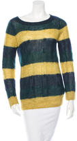Boy By Band Of Outsiders Striped Long Sleeve Sweater