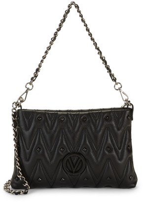 Mario Valentino Valentino By Vanille D Sauvage Studded & Quilted Crossbody Bag