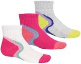 Stride Rite Sport Low Socks - 3-Pack, Quarter Crew (For Girls)