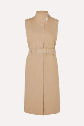 3.1 Phillip Lim Belted Cotton-blend Vest - Beige