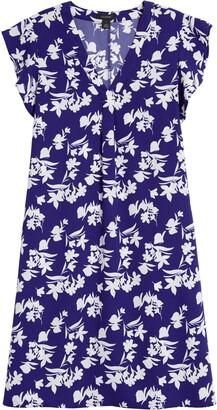 Halogen Flutter Sleeve Minidress