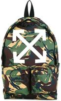Off-White camouflage backpack