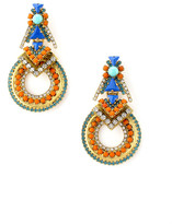 Elizabeth Cole Elena Earrings