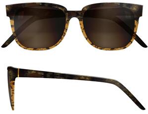 RetroSuperFuture Super Sunglasses People Brown Stone