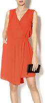Byrds Orange Petal Dress