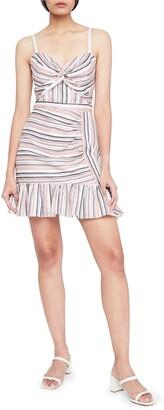 Parker Risa Stripe A-Line Dress