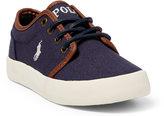 Ralph Lauren Ethan Low Canvas Sneaker