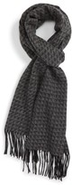 Nordstrom Men's Geometric Wool Scarf