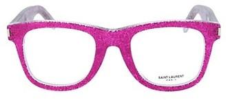 Saint Laurent 50MM Square Optical Glasses