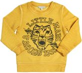 Little Marc Jacobs Tiger Print Bleached Effect Sweatshirt