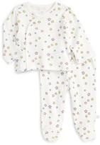 Infant Girl's Rosie Pope Star Print Kimono Top & Footed Pants Set