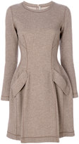 Ermanno Scervino classic fitted flared dress - women - Silk/Cashmere/Virgin Wool - 40